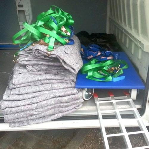 Decken sowie Gurte